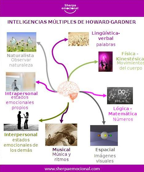 Teoría de las Inteligencias Múltiples Gadner