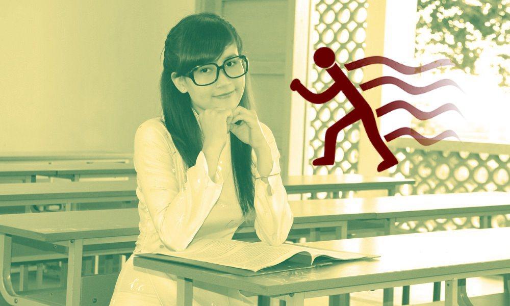 Adolescente estilo de aprendizaje kinestésico VAK