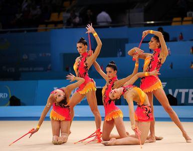 Conjunto español de gimnasia ritmica